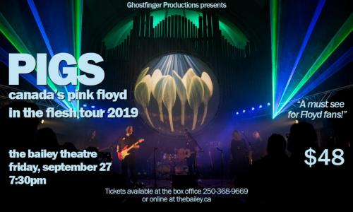PIGS: Canada's Pink Floyd - In The Flesh Tour 2019 | Bhubble